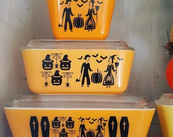Pyrex Inspired Halloween decal pack (DECALS ONLY)