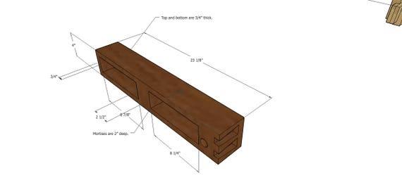 Split Top Roubo Workbench Plans Right Handed Etsy