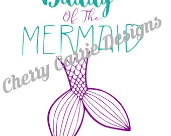 Mama and Daddy of the Mermaid SVG Files