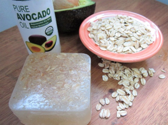 Oats and Avocado Natural Handmade Bar Soap by Shawn's Soaps