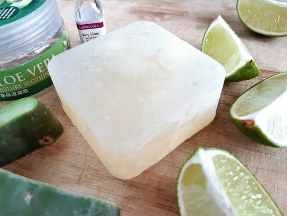 Key Lime and Aloe Vera Handmade Bar Soap by Shawn's Soaps
