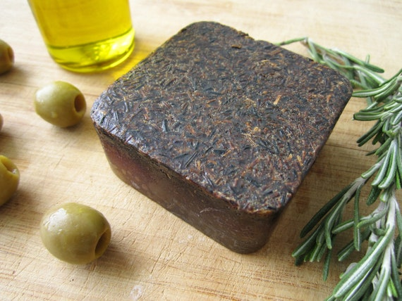 Rosemary and Olive Oil Handmade Bar Soap by Shawn's Soaps