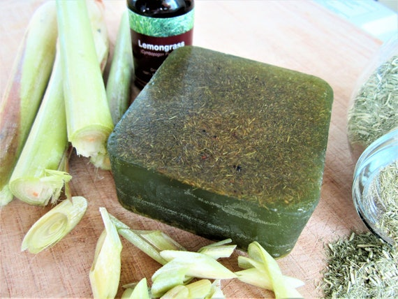 Zesty Lemongrass Natural Handmade Bar Soap by Shawn's Soaps