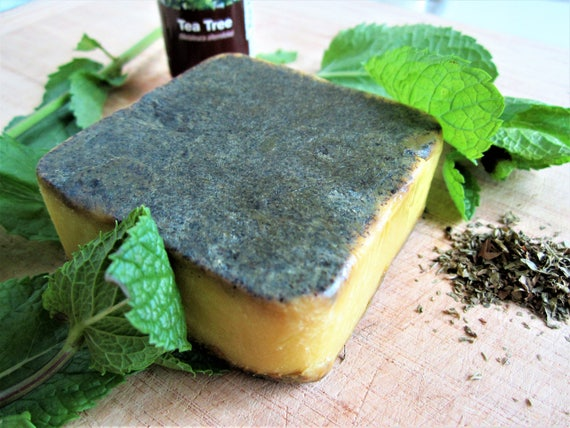 Mint and Tea Tree Handmade Bar Soap by Shawn's Soaps