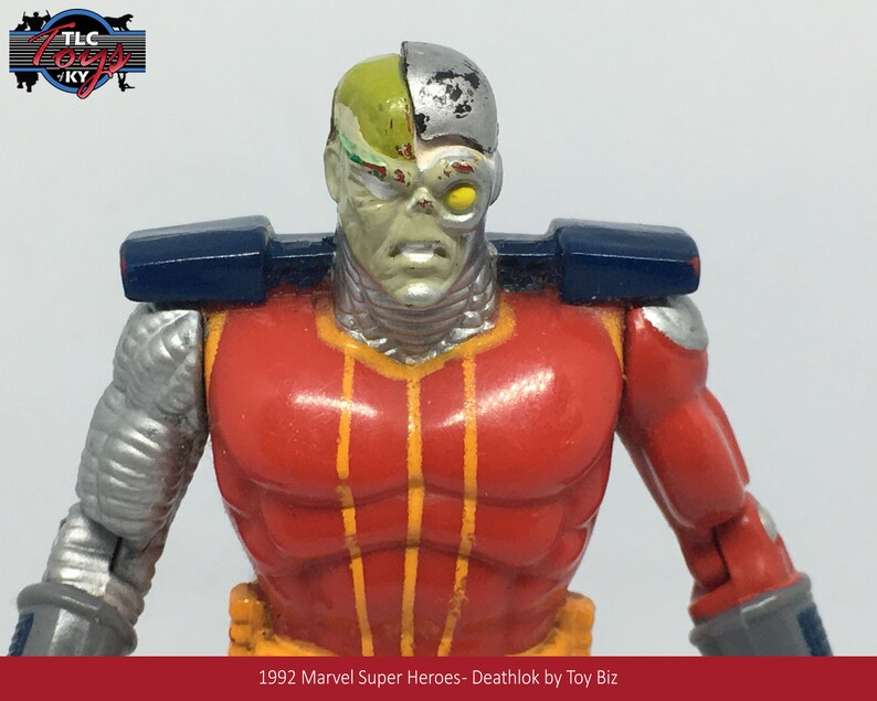 1992 Marvel Super Heroes Deathlok by Toy Biz
