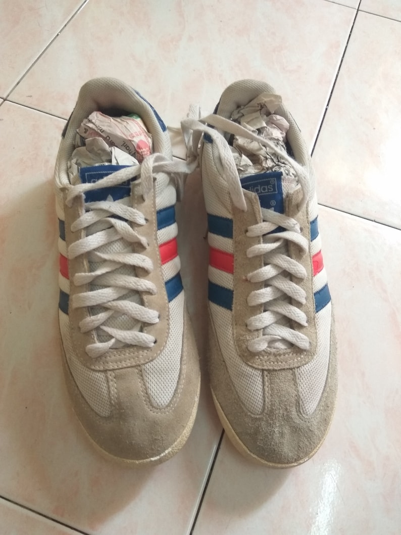 low priced 4325a 94709 Adidas Vintage Sneaker Three Stripe Two Color Rare Shoes   Etsy