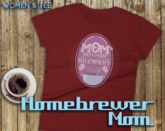 Womens' Brewery - Craft Beer Lover and Homebrewer Brewing Tee