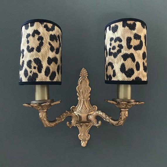 Ralph Lauren Bacara Leopard Handmade Candle Clip Half Etsy