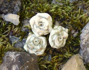 Beaded flowers * the mineral * N ° 2 individually