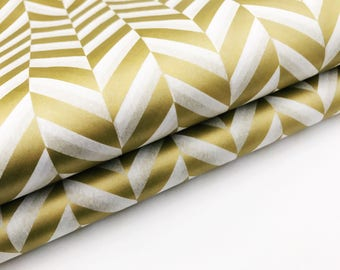10 x Sheets Metallic Gold Herringbone Tissue Paper Sheets- Gift Wrapping/Bulk  Paper/Tissue Paper Tassel/Tissue Paper/Wrapping Paper/gold