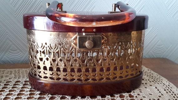 Original 50's Lucite Handbag USA
