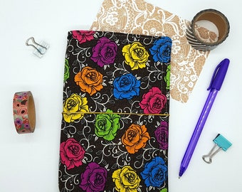 Fauxdori / Fabric Traveller's Notebook / B6 Slim / TN / Journal / NicDori Traveller's Notebook / Starter Pack / Refillable / Planner