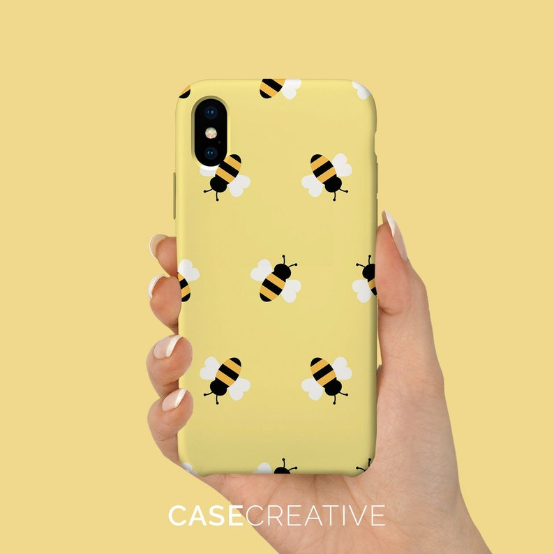 Gold Bumblebee Phone Case / iPhone 11 Case / iPhone 7 Case / image 0