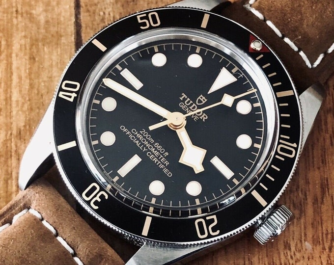 Tudor 2019 Black Bay 58 79030N-000 39mm Automatic Chronometer Steel Mens Full Set watch + Links + Leather