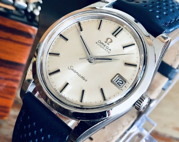 Omega Seamaster Stainless Steel Mens Vintage 1967 watch in stunning condition