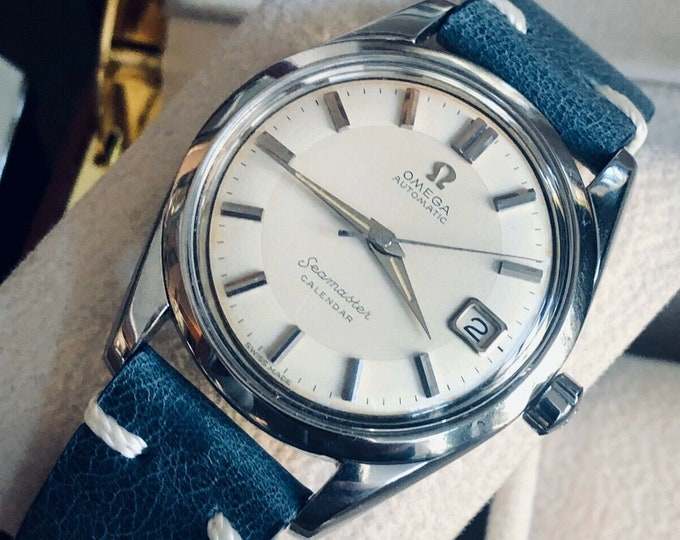 Omega Seamaster Calendar Steel Mens Vintage 1960 Automatic Calibre 503 watch | Serviced March 2020