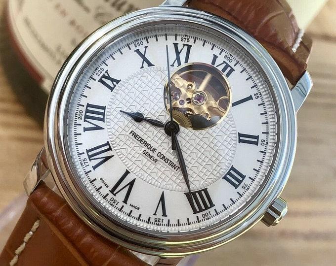 Frederique Constant Heart Beat Geneve Mens Automatic Dress Watch FC-303/310X4P4