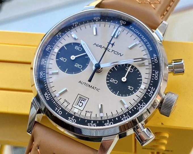 Hamilton American Classic Intra-Matic Automatic H38416160 Chronograph slightly used Watch