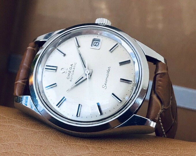 Omega Automatic Seamaster 1969 Mens Vintage Stainless Steel Calibre 565 watch