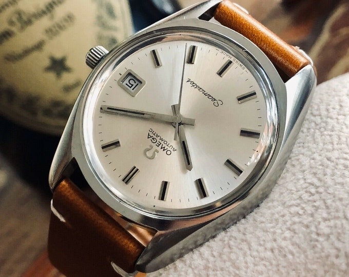 Omega Seamaster Stainless Steel Mens Vintage 1972 Automatic watch in stunning condition