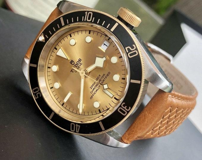 Tudor 79733N S&G 2018 Black Bay 41mm Automatic Chronometer Mens Full Set watch + Box
