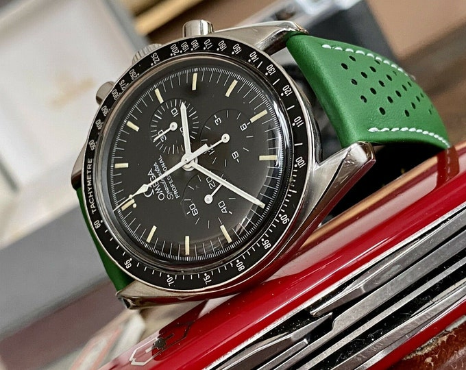 Omega Speedmaster Moon 1993 Watch Ref 3509 Vintage Men's 145.022 Steel Mechanical Hand Winding Caliber 861 + Papers + Box