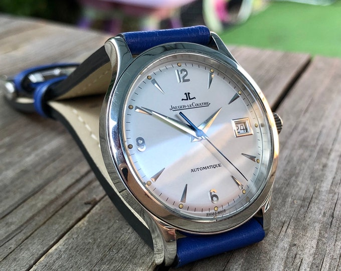 Jaeger Lecoultre Master Control 1000 Testing Steel Automatic 140.8.93.S + Box