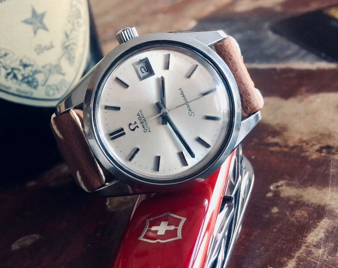 Omega Seamaster Stainless Steel Mens Vintage 1972 watch in stunning condition