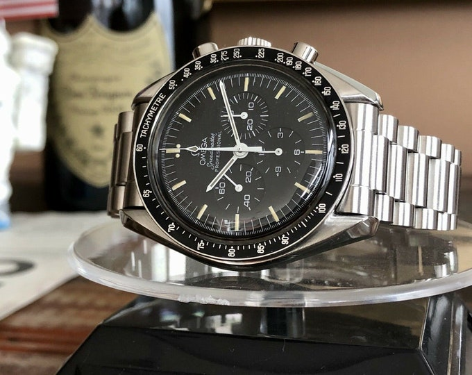 Omega 1974 5th anniversary Apollo 11 XI Vintage Speedmaster Professional 145.022 Calibre 861 Moonwatch semi vintage Mechanical watch + Box