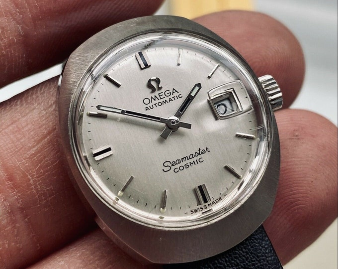 Omega Seamaster Cosmic Automatic Steel Lady used Serviced April 2021 Serviced April 2021 watch