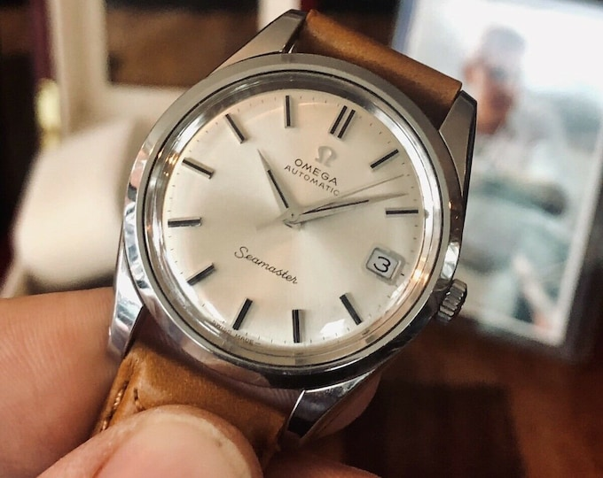 Omega Seamaster Stainless Steel Mens Vintage 1969 watch in stunning condition