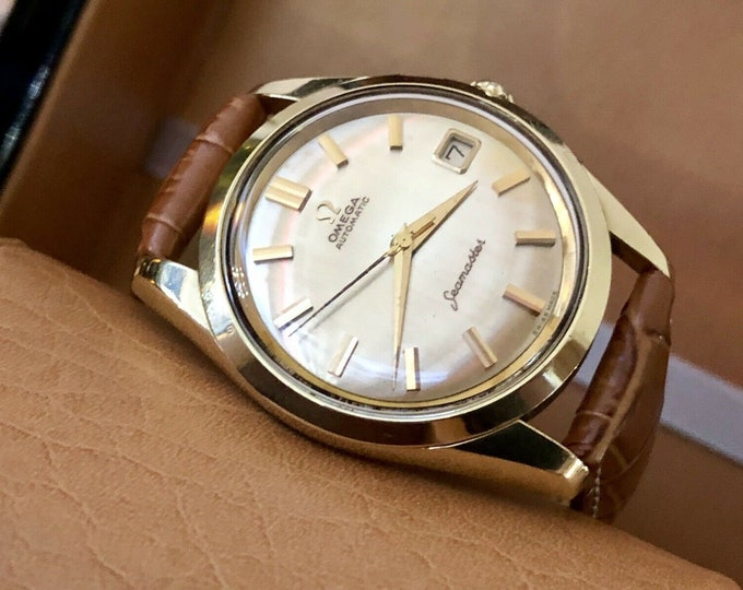 Omega Automatic Seamaster 19610 Mens Vintage Calibre 562 Gold Capped watch
