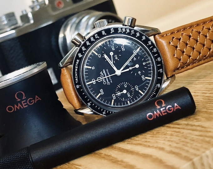 Omega Speedmaster Moonwatch 3510.50 Black Dial Men's Reduced 38mm Automatic Cal 3320 47 Jewels 38 watch + New Box
