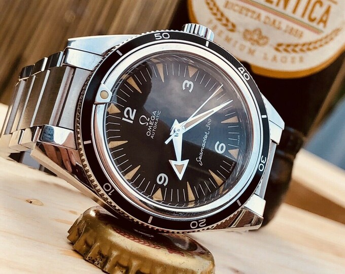 Omega Seamaster 300 Co-Axial Trilogy Chronometer 60th Anniversary men's watch Full Set + Box