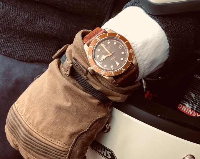Tudor 79250BM Bronze December 2018 Black Bay 43mm Automatic Mens Full Set 3 straps watch + Box & Papers