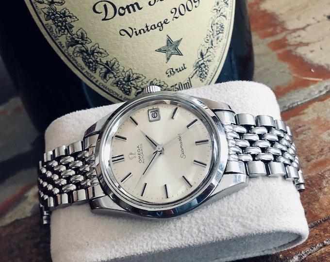 Omega Seamaster 35mm Jumbo Mens Vintage 1963 Automatic watch + Steel Bracelet
