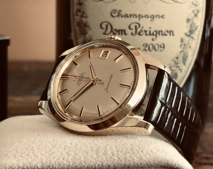Omega Seamaster Automatic Cal 562 1962 Gold Capped & steel Mens vintage watch