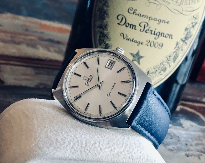 Omega Seamaster Calendar Date Stainless Steel Mens Vintage 1978 Automatic Calibre 1012 watch