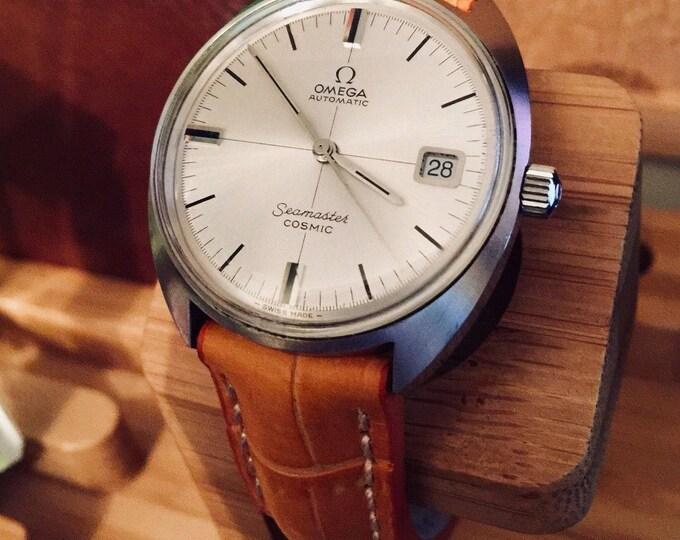 OMEGA Vintage CAL 565 Mens Seamaster Cosmic Automatic Watch + bracelet + box