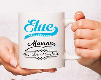 Cup Mug personalized voted best MOM in the world