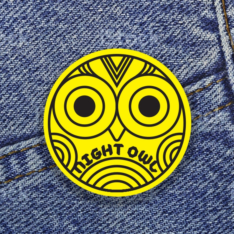 Night Owl 1 Button image 0