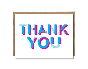6 pack - Thank You Card Set