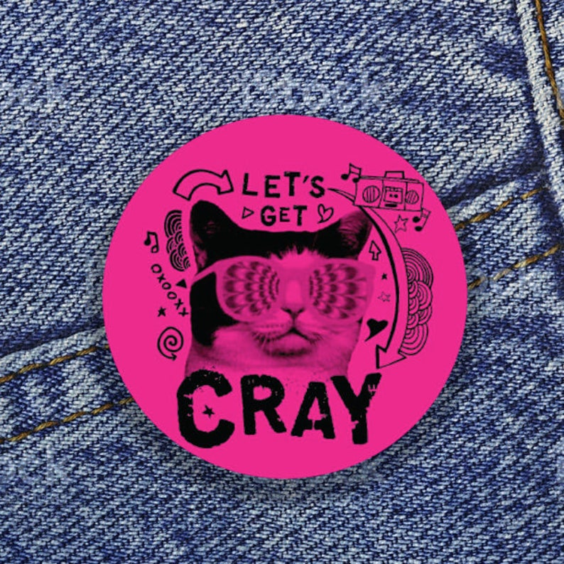Let's get Cray 1 Button image 0