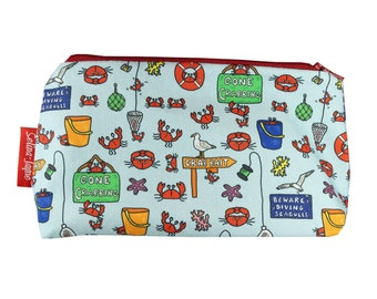 f8dee5266a8a Selina-Jayne Gone Crabbing Limited Edition Designer Cosmetic Bag