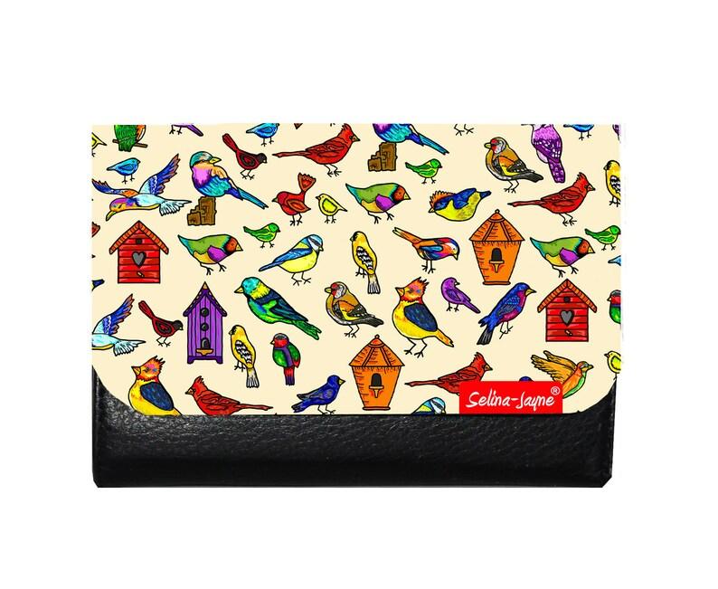 Selina-Jayne Birds Limited Edition Designer Small Purse