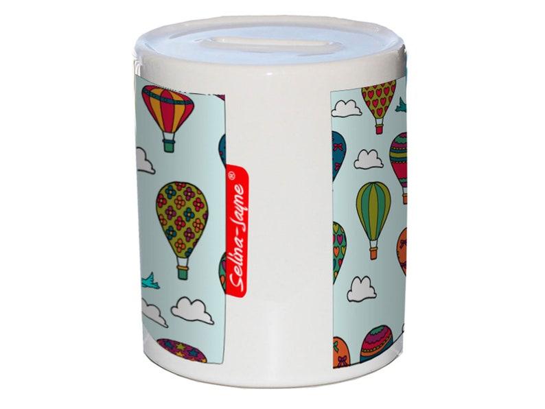 Selina-Jayne Hot Air Balloons Limited Edition Money Box