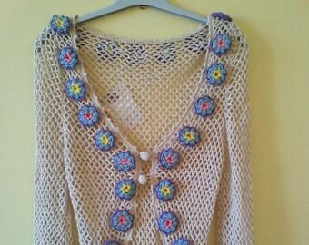 Floral vest