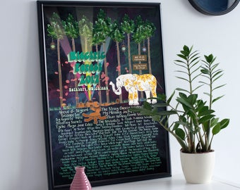 Electric Forest 2017 Poster - Weekend One - Full Lineup