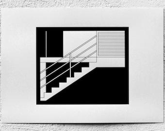 Stairs - A3 Silk Screen Prints