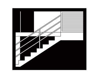 Stairs - A4 Digital Print